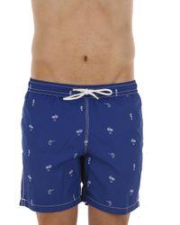 Hartford - Blue Swimwear For Men for Men - Lyst