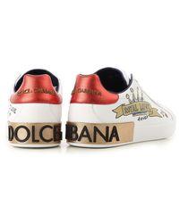 Dolce & Gabbana - White Sneakers For Men On Sale for Men - Lyst