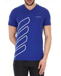 Emporio Armani - Blue Clothing For Men for Men - Lyst