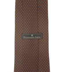 Ermenegildo Zegna - Brown Ties for Men - Lyst