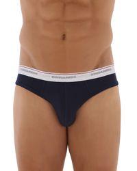 DSquared² - Blue Underwear For Men for Men - Lyst