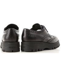 Prada - Black Womens Shoes - Lyst