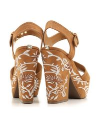 Guess - Brown Shoes For Women - Lyst