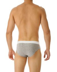DSquared² - Gray Briefs For Men On Sale for Men - Lyst