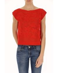 D. EXTERIOR - Red Clothing For Women - Lyst