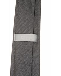 Dior - Gray Ties On Sale In Outlet for Men - Lyst