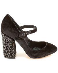 Dolce & Gabbana - Black Shoes For Women - Lyst