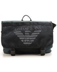 Armani Jeans - Black Bags For Men for Men - Lyst