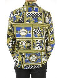 Chemise Homme Pas cher en Soldes Outlet Versace pour homme en coloris Metallic