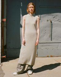 Rag & Bone - Gray Ace Cashmere Dress - Lyst
