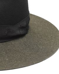 Rag & Bone - Green Wide Brim Fedora - Lyst
