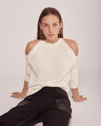 Rag & Bone | Natural Dana Cold Shoulder | Lyst