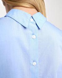 Rag & Bone | Blue Reversible Calder Top | Lyst