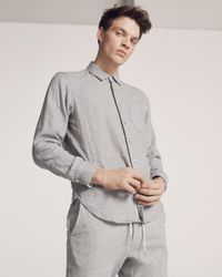 Rag & Bone - Gray Beach Shirt for Men - Lyst