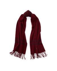 Polo Ralph Lauren - Purple Stripe Wool Blanket Scarf - Lyst