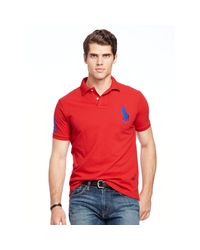 Pink Pony - Blue Classic-fit Big Pony Polo for Men - Lyst