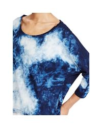 Polo Ralph Lauren - Blue Indigo Cotton Tee - Lyst