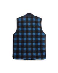 RRL - Blue Reversible Vest for Men - Lyst