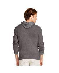 Polo Ralph Lauren - Gray Cashmere Crewneck Sweater for Men - Lyst