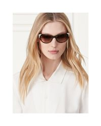 Ralph Lauren | Metallic Western Cat Eye Sunglasses for Men | Lyst