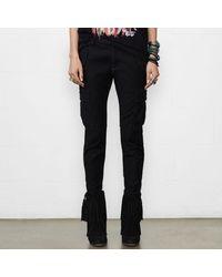 Denim & Supply Ralph Lauren - Black Skinny Freedom Cargo Pant - Lyst
