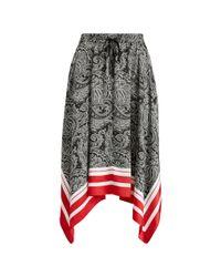 Ralph Lauren - Multicolor Paisley-print Skirt - Lyst