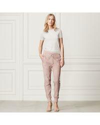 Ralph Lauren - Natural Merino Short-sleeve Sweater - Lyst