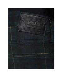 Polo Ralph Lauren - Blue Sullivan Slim-fit Plaid Jean for Men - Lyst