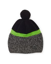 Polo Ralph Lauren | Black Merino Wool Pom-pom Hat for Men | Lyst