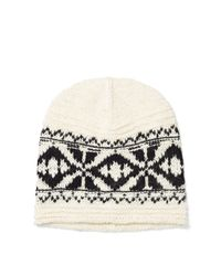 Polo Ralph Lauren | Black Geometric Cotton-blend Hat | Lyst
