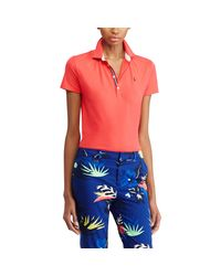 Ralph Lauren Golf - Multicolor Tailored Fit Pima Cotton Polo - Lyst