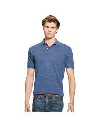 Polo Ralph Lauren | Blue Classic Fit Mesh Polo Shirt for Men | Lyst