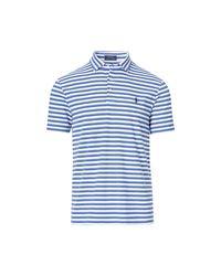 Polo Ralph Lauren | Blue Geschmeidiges Classic-fit Polo for Men | Lyst