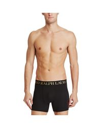 Polo Ralph Lauren - Black Boxer Brief 2-pack for Men - Lyst