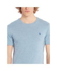 Polo Ralph Lauren - Blue Custom-fit Cotton T-shirt for Men - Lyst