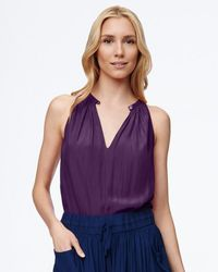 Ramy Brook - Purple Piper Top - Lyst
