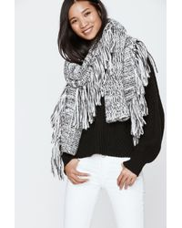Rebecca Minkoff | Multicolor Chunky Melange Blanket Scarf | Lyst