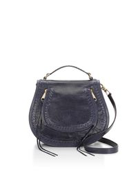 Rebecca Minkoff | Blue Vanity Saddle Bag | Lyst