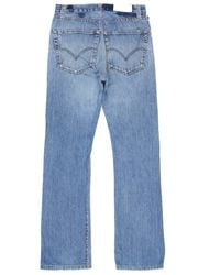 Re/done - Blue High Rise Bootcut for Men - Lyst