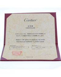 Cartier - Metallic Mini Love Ring 750 Diamond #8 Silver - Lyst