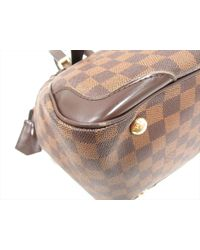 Louis Vuitton - Brown Verona Mm Shoulder Bag Ebene Damier N41118 - Lyst