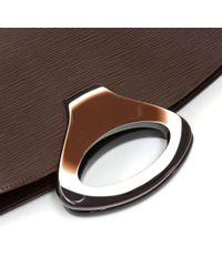 Louis Vuitton - Noctambule Dark Brown Epi Leather Hand Bag - Lyst
