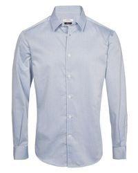 Versace - Shirt Blue for Men - Lyst