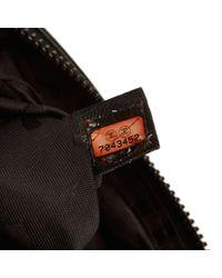 Chanel - Black Choco Bar Canvas Shoulder Bag - Lyst