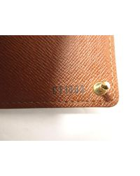 Louis Vuitton - Brown Monogram Porte Cartes Credit Pression Card Case M60937 - Lyst