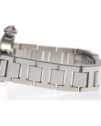 Cartier - Metallic Mispacha W3140008 Quartz Ladies Pre-owned - Lyst