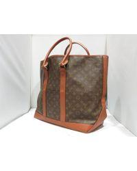 Louis Vuitton - Weekend Gm Tote Bag Browns Monogram M42420 - Lyst