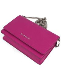 Givenchy - Red Pandora Chain Wallet - Lyst