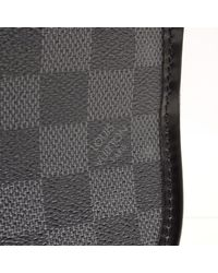 Louis Vuitton - Gray Damier Graphite Truth Suspended Double Pouch Second Bag N 4 1419 - Lyst