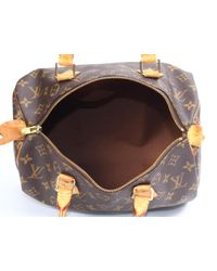 Louis Vuitton - Brown Speedy Cloth Handbag - Lyst